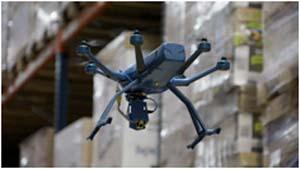 FM Logistic testará un prototipo de dron para hacer inventarios