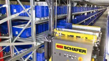 SSI Schaefer construye un almacén automático para Karl Storz