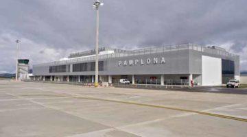 Aeropuerto de Pamplona, con demanda suficiente para tener una conexión con Europa