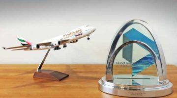 Emirates SkyCargo, mejor aerolínea de carga en los premios Global Freight 2016
