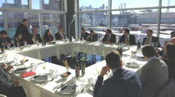 Encuentro de empresas italianas del sector logístico con Josep Rull
