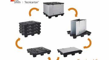 DS Smith Tecnicarton reduce a la mitad el plazo de entrega de contenedores de Tecnipack