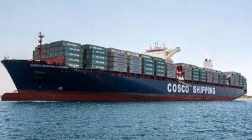 COSCO SHIPPING Lines pone en marcha un servicio entre el Mediterráneo y África Occidental
