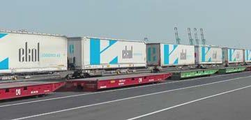 Ekol abre una nueva línea de tren entre Bélgica e Italia