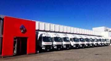 Lotrans renueva su flota con la gama T de Renault Trucks