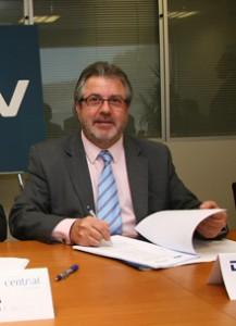Escolástico González, director general de CR Aeropuertos