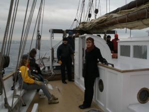 Navegando en el Santa Eulàlia
