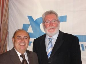 Matías García (derecha) y Fernando Gonzalo