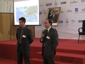 Annouar Alasri (izquierda) y Gerardo Landaluce