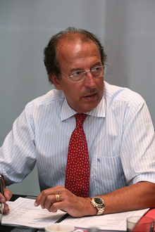 Manuel Hereza, director general del Grupo Setram