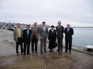Marin Sanchez, Javier de la Riva, Manuel Pascual, Christian Manrique, Martine Jourden, Christophe Mathieu y Juan Jose Sota