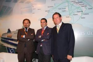 Guido Grimaldi en el centro de la foto