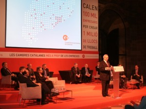 Miquel Valls, presidente del Consell de Cambres de Catalunya