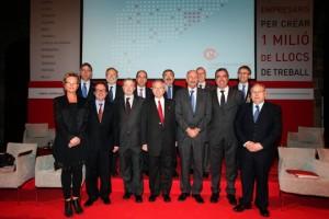 Presidentes de las 13 Cámaras de Comercio de Catalunya