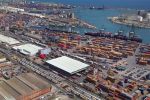vista general port barcelona