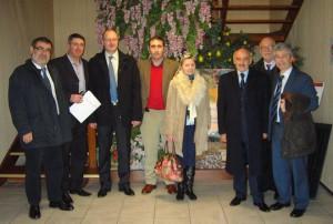 Delegación del Port de Barcelona en el Mercado de Sant Charles de Perpinyà
