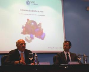 Juan Martínez, Director General de VGG y Xoán M. Reboredo, Director Adjunto