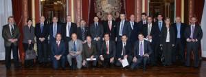 Junta Uniport con el alcalde Bilbao (17 febrero 10)
