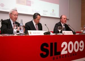 Inauguración del Fórum Mediterráneo de la Logística y el Transporte en el SIL 2009