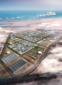 The future Masdar City  © Masdar