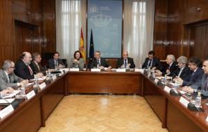 Blanco reunido con el Comité Nacional de Transportes