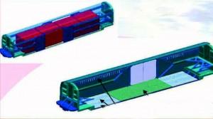 Los contenedores diseñados podrían ser transportados por camión, avión y tren