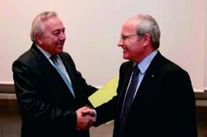 José Montilla y Manuel Royes (Foto: Rubén Moreno)