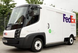 Vehículo híbrido de FedEx