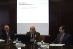 Jordi Serret, Antonio de la Ossa y Alejandro Arola