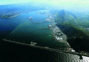 Vista del puerto desde Punta Lucero