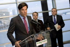 Jorge Vega-Penichet, presidente de Acciona Trasmediterránea