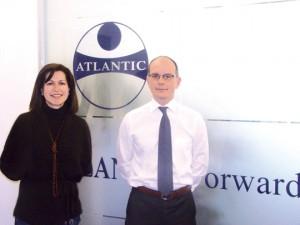 Marta Blanch y Enrique Bonfils de Atlantic Forwarding Spain