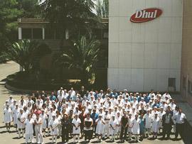Fábrica DHUL del Grupo Nueva Rumasa