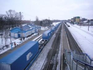Primer tren Vesoul-Kaluga