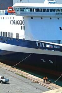 """El """"Coraggio"""" sustituye a partir de mañana de manera provisional al buque """"Audacia"""""""