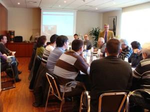 Javier Agúndez, Técnico de Seguridad en la Circulación y Protección Civil de Renfe Mercancías