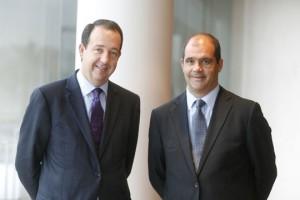 Jorge Miarnau (izquierda) y Carles Sumarroca, Presidente y Vicepresidente de Comsa Emte, respectivamente