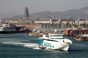 El Ramon Llull de Baleària enlaza Barcelona y Ciutadella en 4 horas