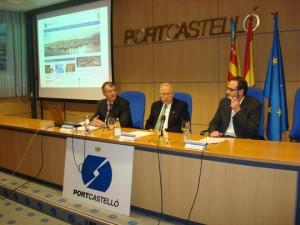 Juan José Monzonís y Roberto Arzo en la presentación del nuevo portal