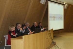 Momento de la presentación de las operaciones de Ryanair en el Aeropuerto Central Ciudad Real
