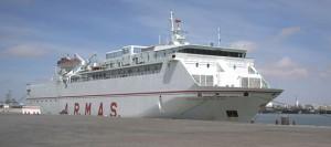 El buque Volcán de Tejeda enlazaría en una primera fase el puerto de Las Palmas con El Aaiún