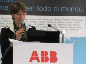 Claire Carmona, directora europea del negocio de turbocompresores