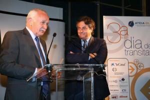 Mariano Fernández, presidente de Ateia-OLT Barcelona en el Día del Transitario de 2009