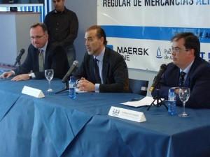 Kent Hagbarth, Miguel Campoy y Francisco Oviedo