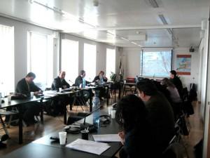 Momento de la reunión de la Comisión del Arco Atlántico
