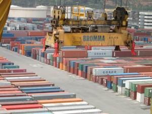 Los contenedores de exportación crecieron un 20% y los de importación un 6,4%