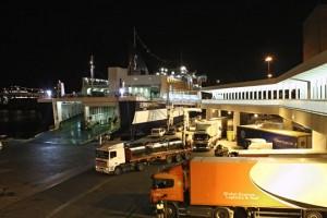 Las mercancías transportadas a través de las líneas de short sea shipping han experimentado un aumento del 8%