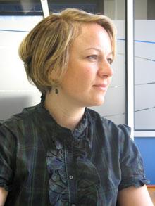 Ervina Catic, responsable del nuevo departamento de Subcontratación