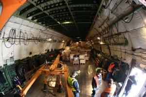 Interior del Antonov 225