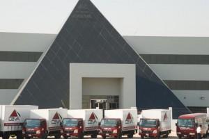 Pyramid warehouse in Dubai